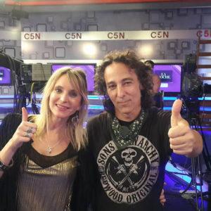 Con Javier Calamaro