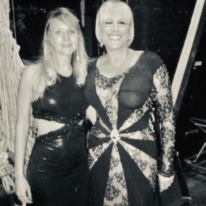 Con Valeria Lynch